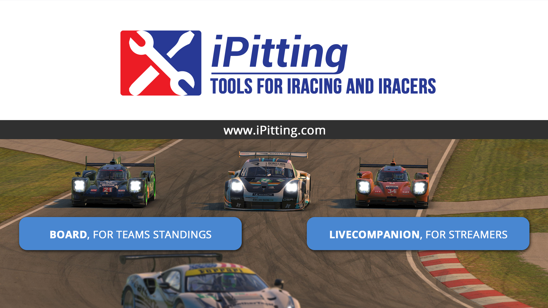LiveCompanion • iPitting com - Tools for iRacing and iRacers